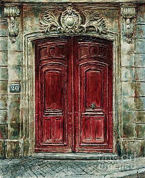 Parisian Door No. 20 by Joey Agbayani