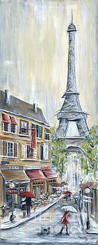 Poodle In Paris by Marilyn Dunlap