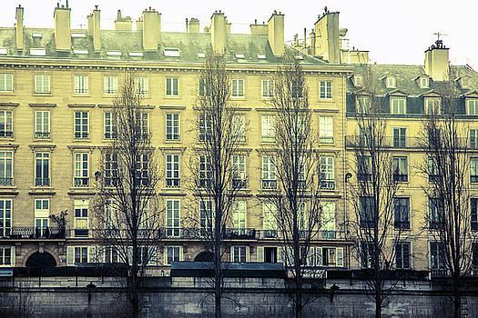 Parisian Architecture by Andrew Soundarajan