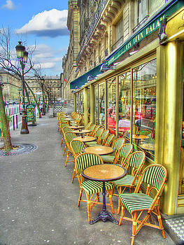 Paris Cafe by Mark Currier