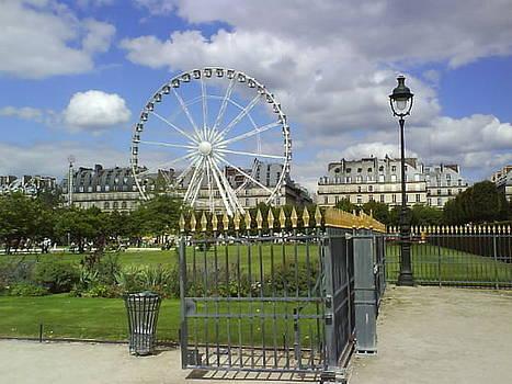 Paris' eye by Nyna Niny