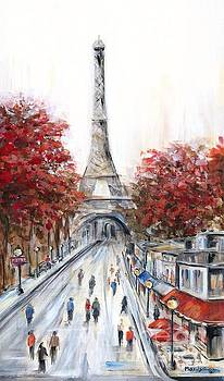 Paris In The Fall by Marilyn Dunlap