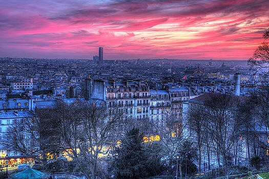Paris Sunset by Shawn Everhart