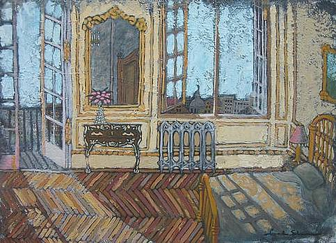 Parisian Apartment in Morning by Carl Stevens