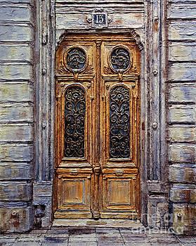 Parisian Door No. 15 by Joey Agbayani