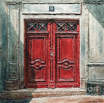 Parisian Door No.9 by Joey Agbayani