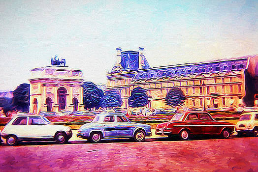 Cindy Boyd - Parking Outside The Museum in paris 1973