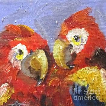 Parrots by Delilah  Smith