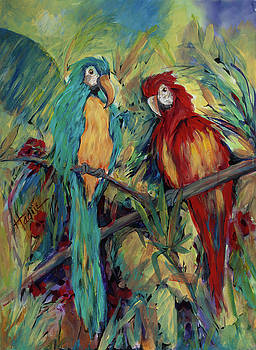 Parrots by Mary DuCharme