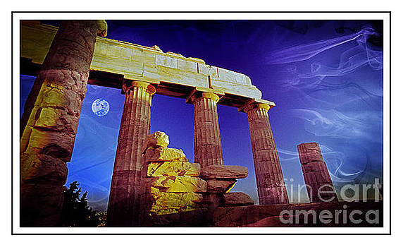 Parthenon  Ver 1 by Larry Mulvehill