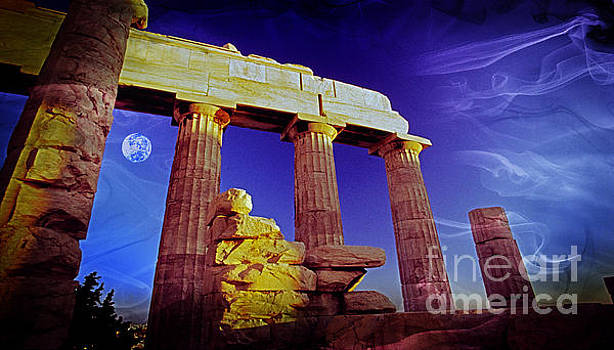 Parthenon ver 3 by Larry Mulvehill