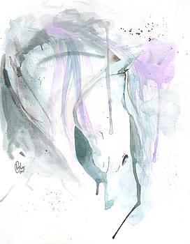 Paso Fino Watercolor by Liz Oliver