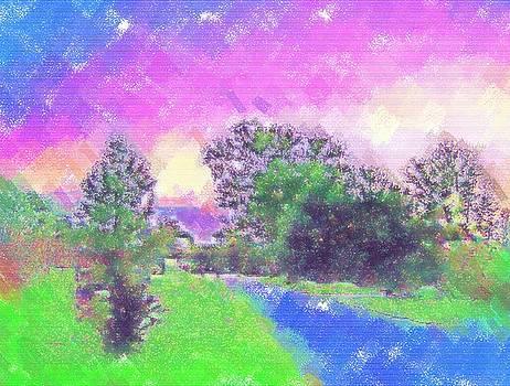 Pastel Landscape by Skyler Tipton
