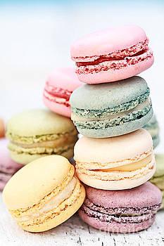 Pastel Macarons by Stephanie Frey