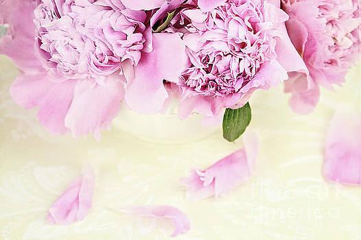 Pastel Pink Peonies  by Stephanie Frey
