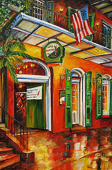 Pat O'Brien's Bar on Bourbon Street by Diane Millsap