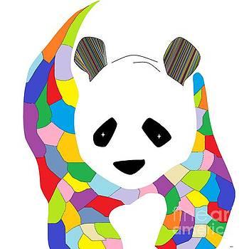 Patchwork Panda by Eloise Schneider