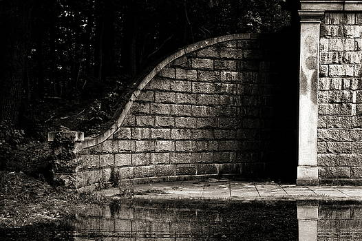 Path Behind The Wall by Bob Orsillo