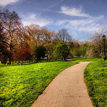 Path In The Park by Emmanuel Varnas