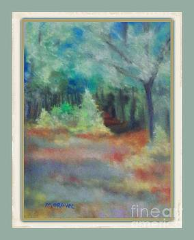 Path Through the Forest by Shirley Moravec