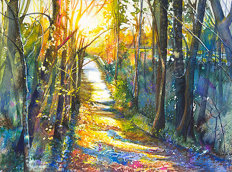 Path to the Bridge by Patricia Allingham Carlson
