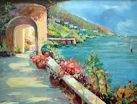 Path to the Mediterranean   by Benjamin Johnson