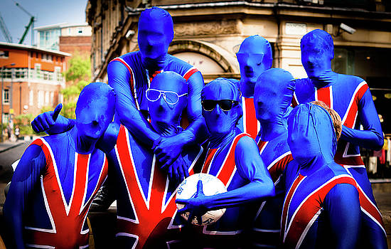 Patriotism at the Royal Wedding by Paul Jarrett