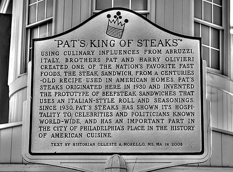 Pat's King of Steaks - Inventor of the Cheesesteak - Ninth and Passyunk in South Philadelphia by Michael Mazaika