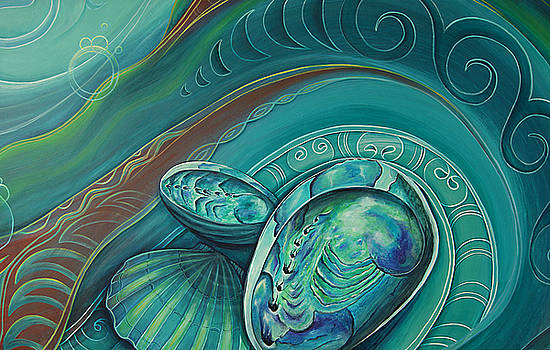 Paua Seabed by Reina Cottier