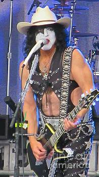 Paul Stanley with Calgary Stampede Hat by John Malone