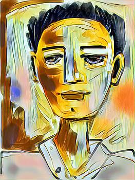 Pauls Portrait by Elaine Lanoue