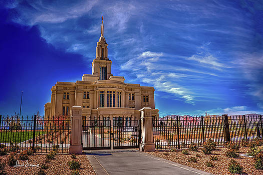Payson Temple by David Simpson
