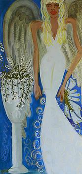 Peace and Love Angel by Helen Gerro