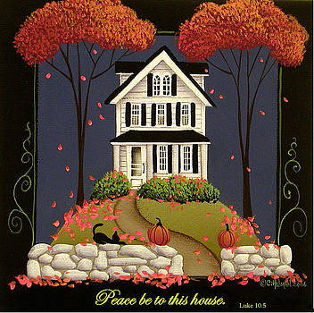 Peace be to this house by Catherine Holman
