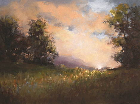 Peace Landscape Print by Patti Trostle