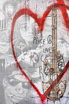 Peace Love RocknRoll by Joachim G Pinkawa