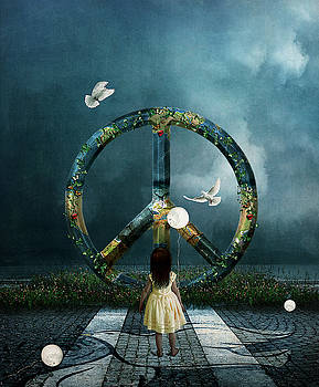 Peace by Nataly Rubeo