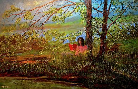 Peace of mind by Michael Mrozik