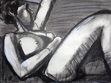 Peaceful 2 - Female Nude by Carmen Tyrrell