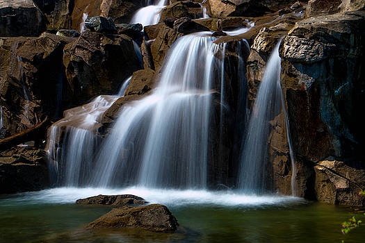 Peaceful Falls by Brad Walters