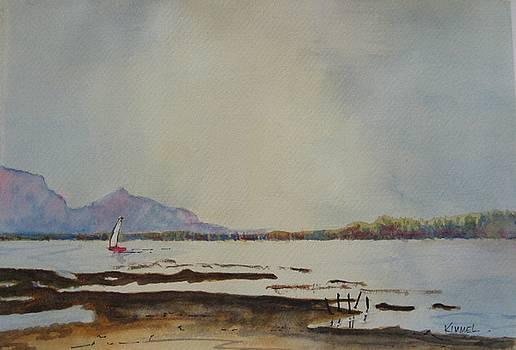 Peaceful Lagoon by Harold Kimmel