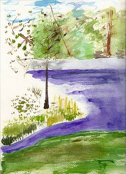 Peaceful Lake by Denise Marie Johnson