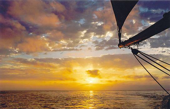 Peaceful Sailing by Kathy Schumann