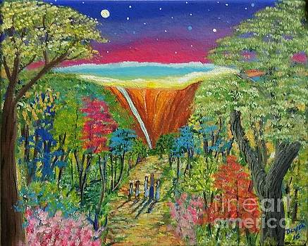 Peacefull world  by Deyanira Harris