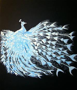 Peacock 1 by Chris Benice