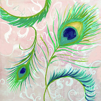 Peacock feathers by Robin Maria Pedrero