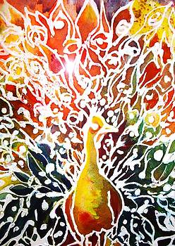Peacocks Glory by AnnE Dentler