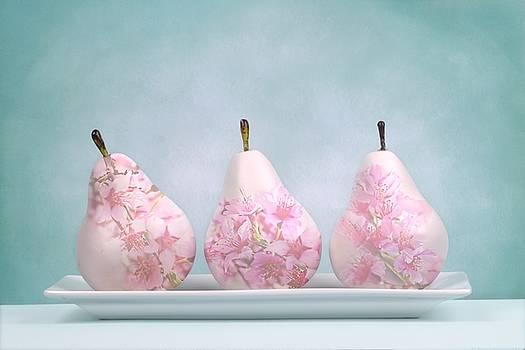 Pear Blossoms by Chrystyne Novack