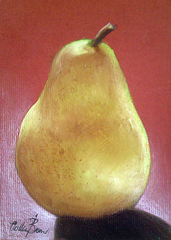 Pear Number 1 by Colleen Brown
