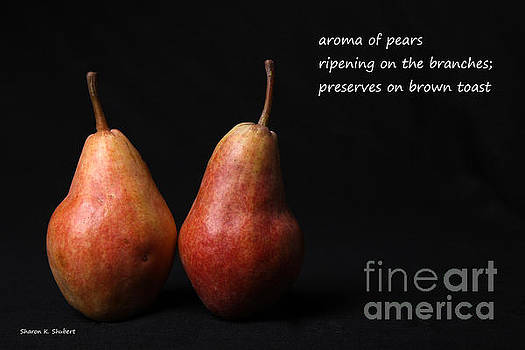 Pear Preserves HAIKU by Sharon K Shubert